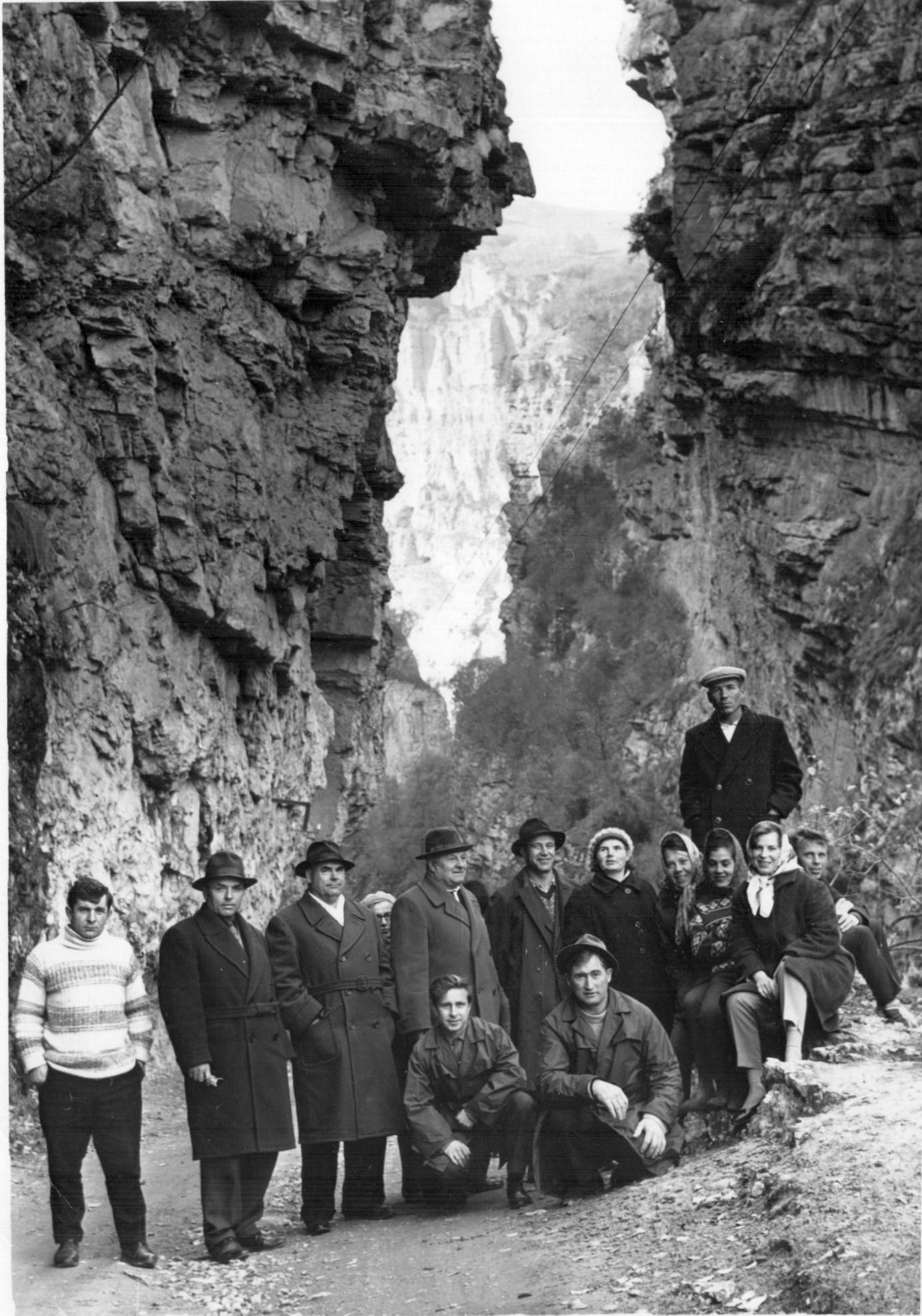 Кавказ. Чегемское ущелье. 1965.