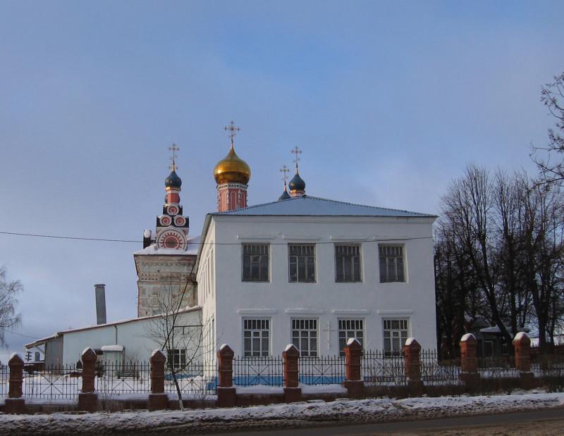 Талдом. Церковь Архангела Михаила. Зима 2006 г.