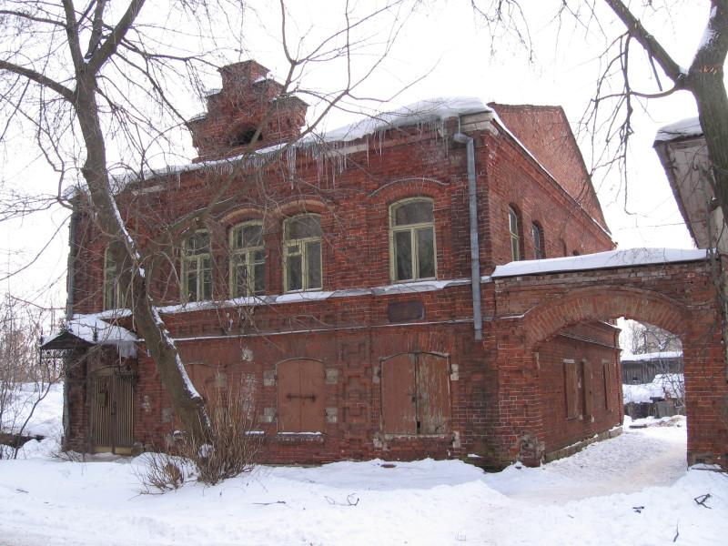 Кимры. Дом на ул. К. Либкнехта. Зима 2006 г.