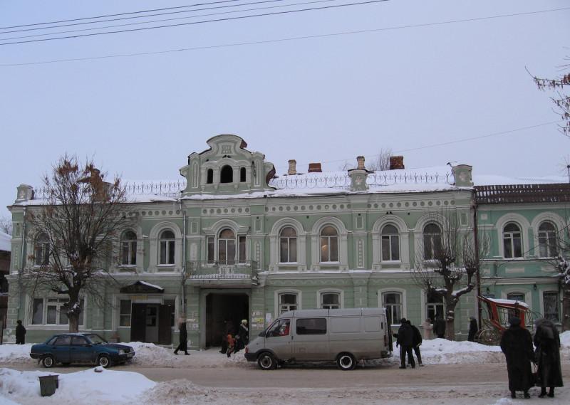 Кимры. Бывш. дом Зубова на ул. Урицкого. Зима 2006 г.