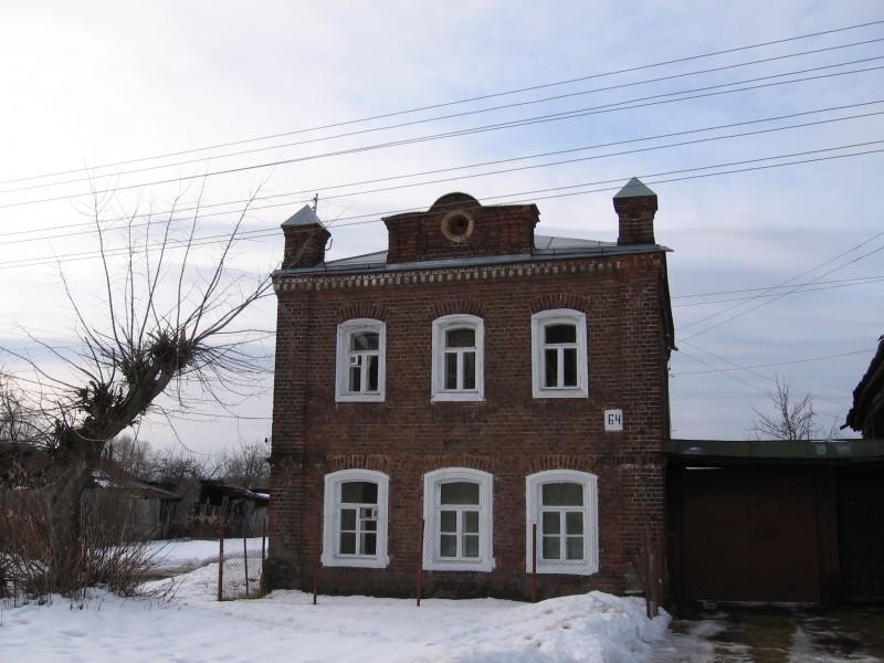 Павловский Посад. Карповская ул. Жилой дом. Зима 2006 г.