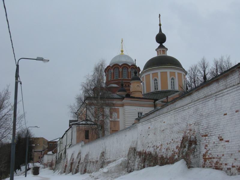Хотьково. Покровский Хотьков монастырь. Зима 2011 г.