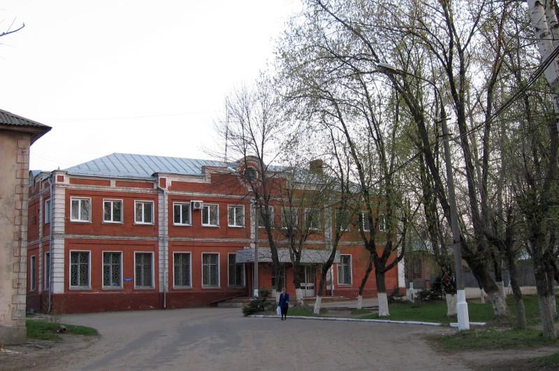 Административный корпус Платочки в 2006-2007 гг.