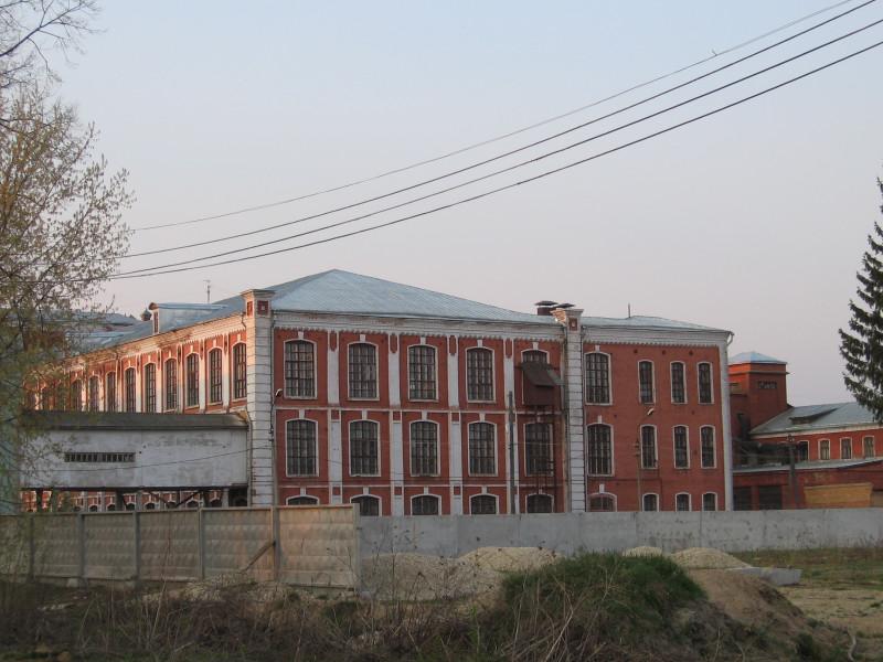 Старые производственные корпуса. 2006-2007 гг.