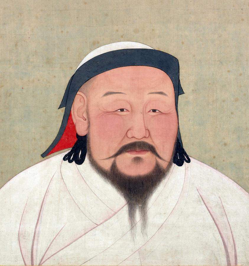 Хубилай, внук Чингис-хана, первый император династии Юань.