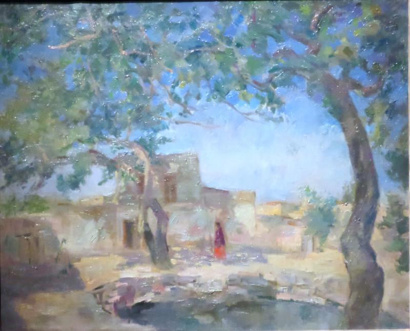 У хауса. Самарканд. 1943.