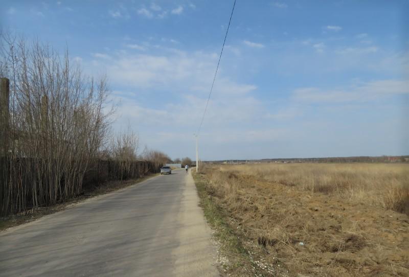 Весна 2021 г. Дорога к северу от Филимонова.