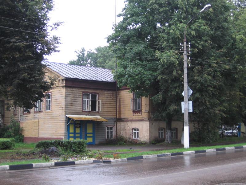 Дом Шевелкиных (станция скорой помощи). 2006-2007 гг.