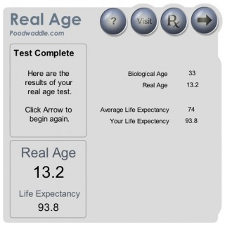 What's your Real Age? | K  Close III