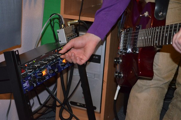 Запись гитары