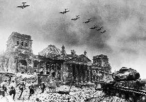 Soviet forces near the Reichskanzlerei