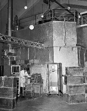 The civilian nuclear reactor at Kjeller was among the first in the world.  PHOTO: SCANPIX