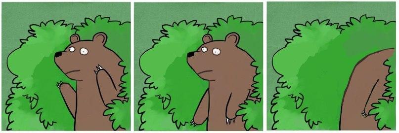 медведь устал