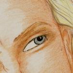 A grey eye