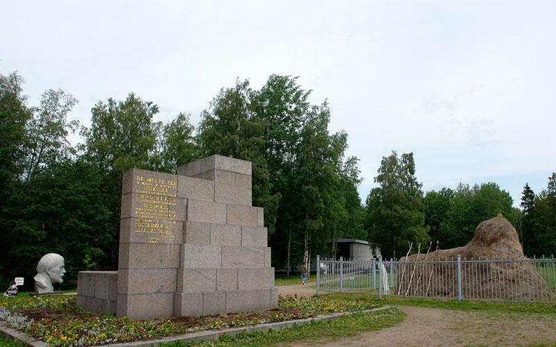 Сестрорецкий Разлив, мемориальный комплекс