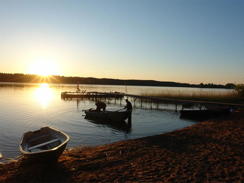 озеро Селигер, восход солнца