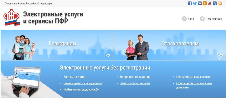 Пенсионный фонд российской федерации личный кабинет застрахованного лица потребительская корзина на 2014 года