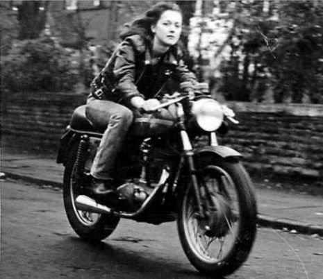 Cafe Racer Girl, 1960s