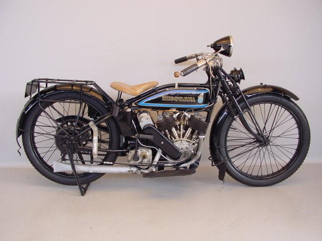 Moto Husqvarna 546cc-1927