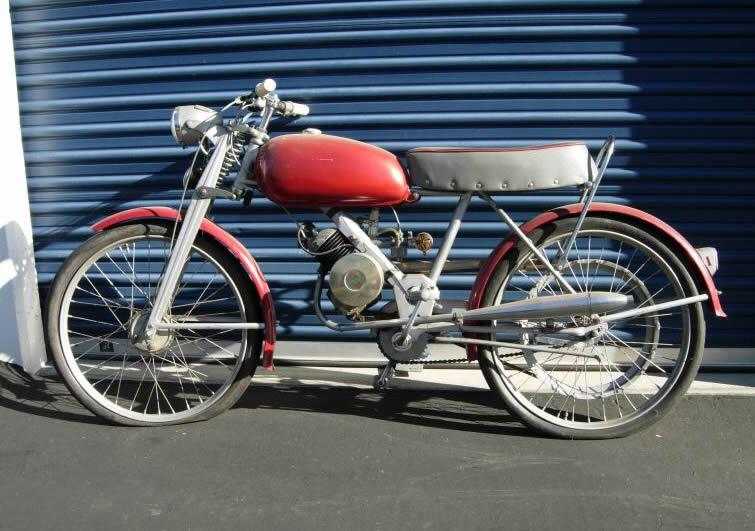 Cyclo Husqvarna 50cc-1955