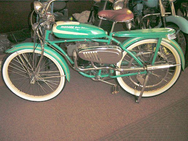 Cyclo Monark 1951, Uppsala, Suede