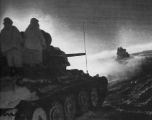 Операция Уран. Танковое наступление