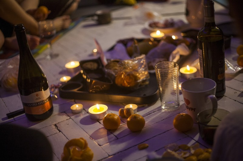 Про свечи, новогодние желания и зимние девичники
