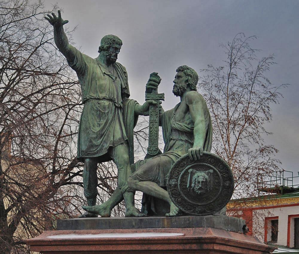 минин и пожарский памятник фото