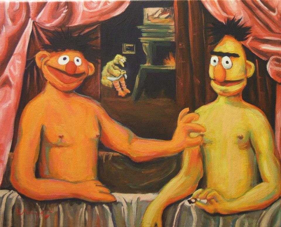 Как я спасал друга-гея Bert-et-un-de-ses-freres.jpg