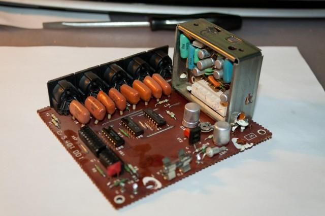 Заменяем высохшие конденсаторы
