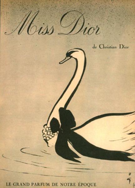 Miss Dior: винтажная и современная реклама: perfumeworld — LiveJournal