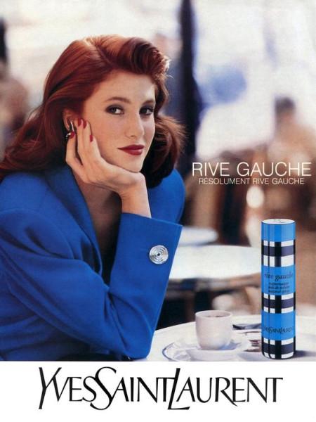 Винтажная реклама: YSL Rive Gauche: perfumeworld — LiveJournal
