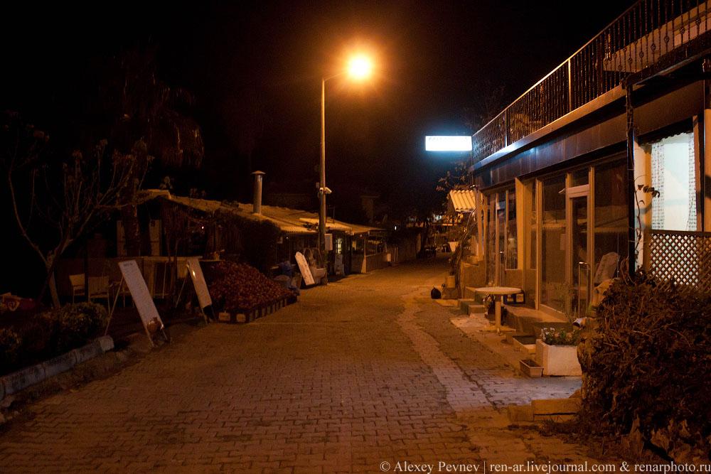 прибрежная улочка в Сиде