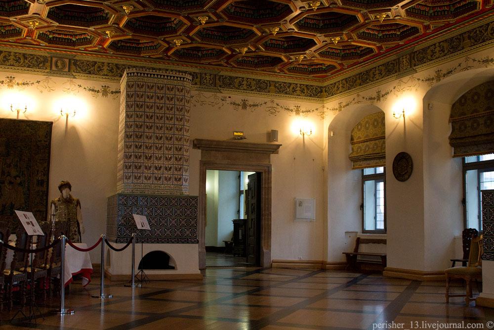 Столовая изба. Реконструкция помещения XVI-XVII вв.