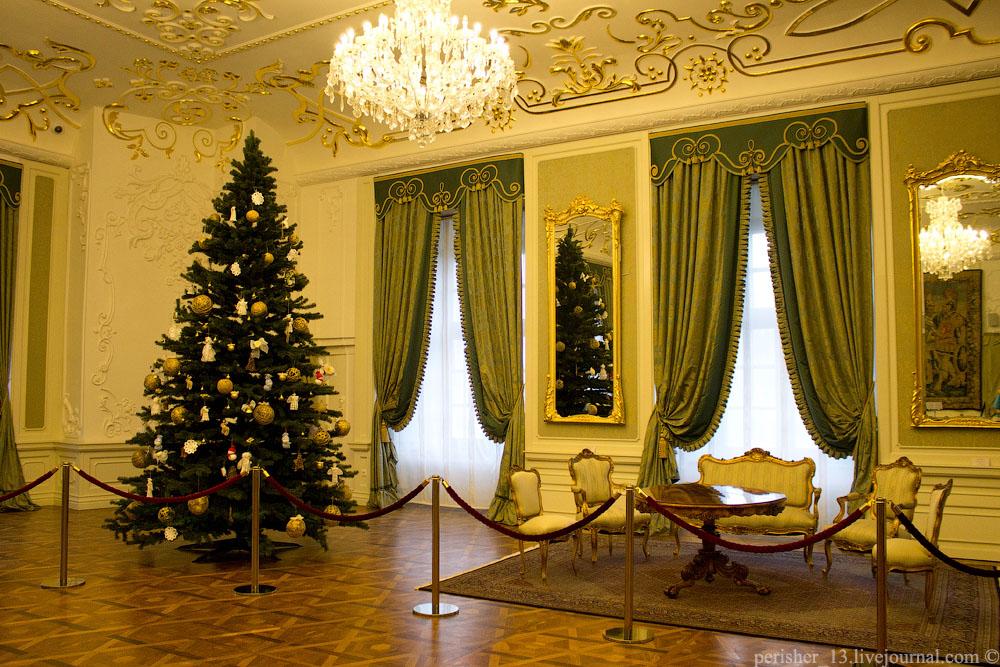 Портретный зал. Реконструкция помещения 1740-1750 гг.