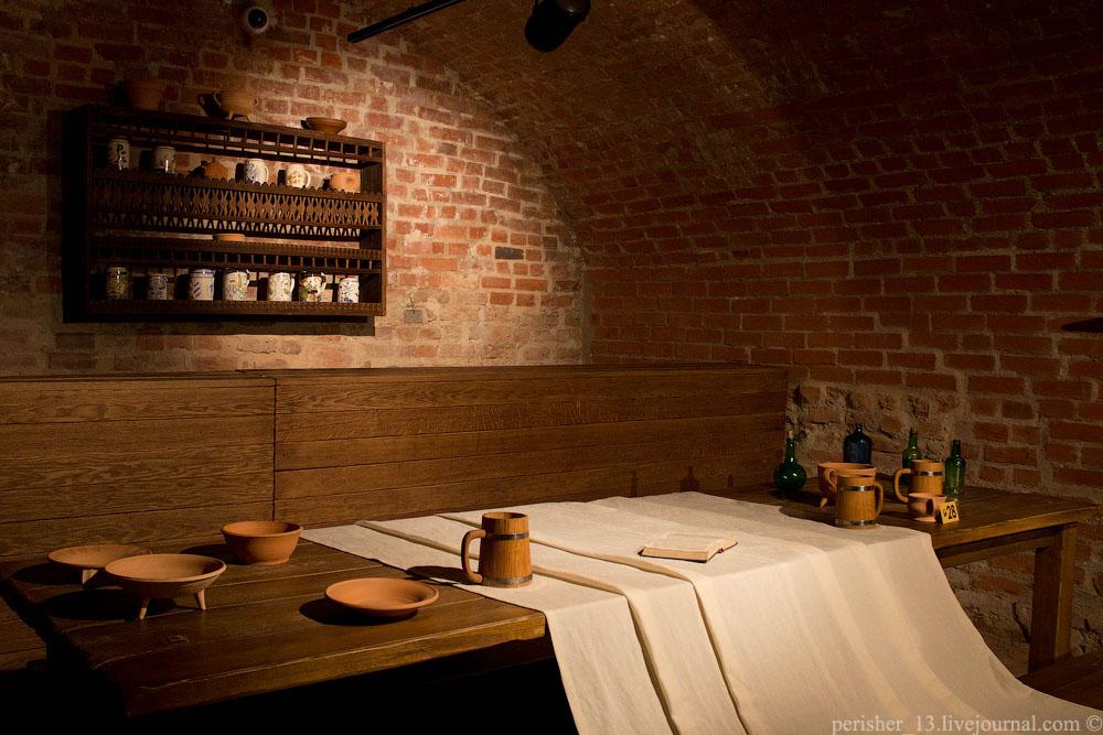 Кухонная изба. Реконструкция помещения XVII–XVIII вв.