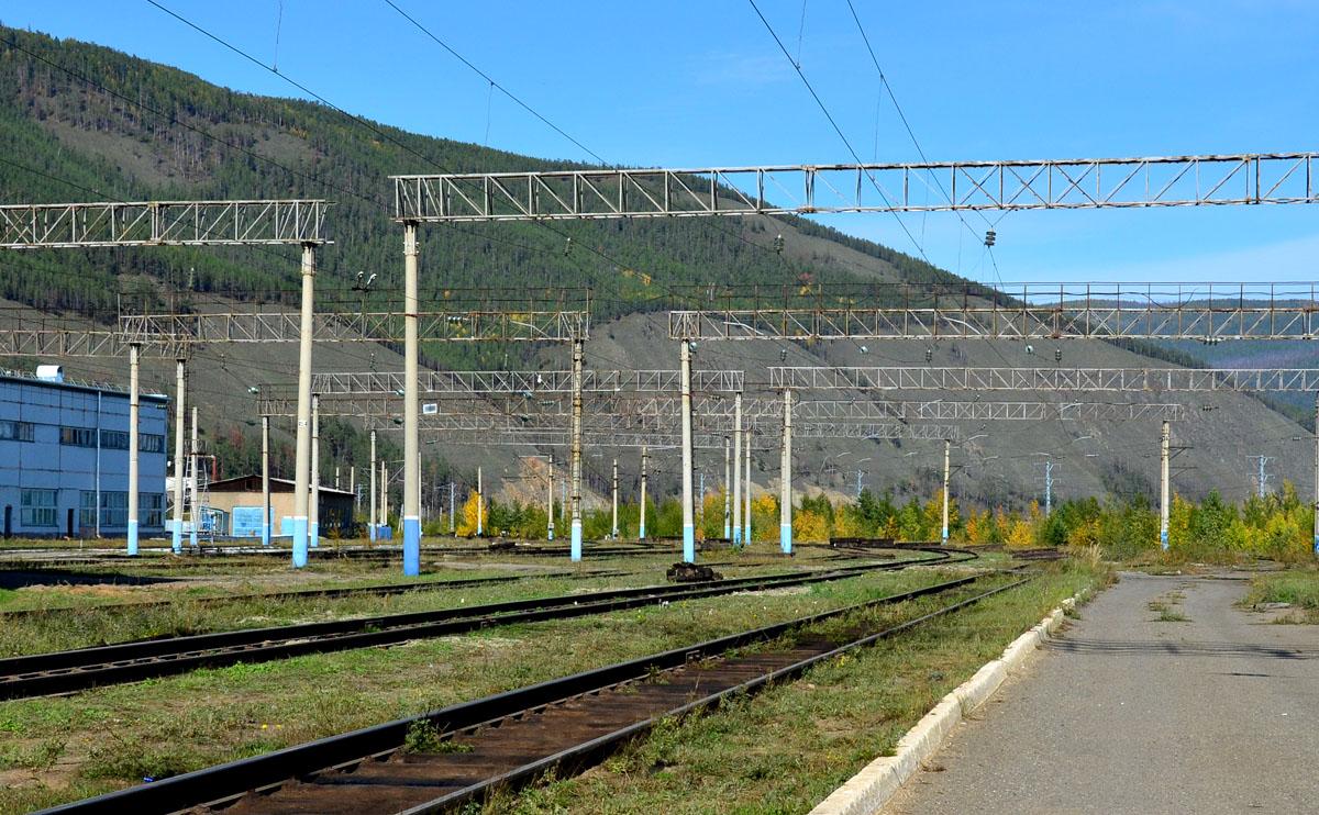 VIII. Депо Северобайкальск и его локомотивный зоопарк