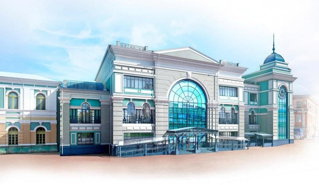 Планы по перестройке Иркутского вокзала: рендеры и здания под снос