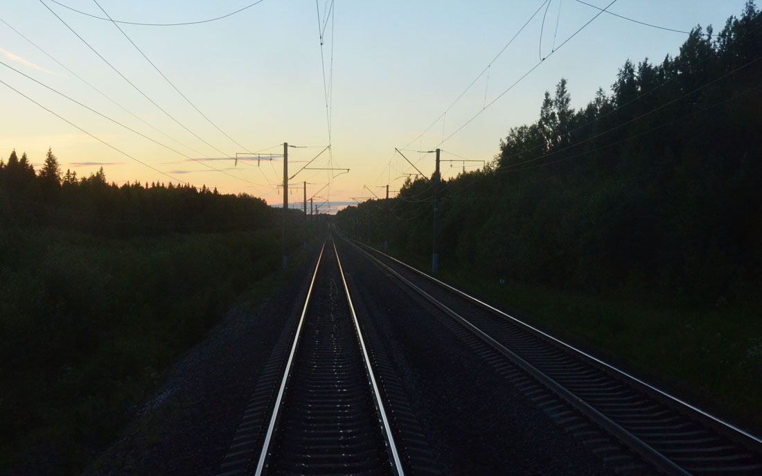 V. Поезд №551: на архангельском ходе
