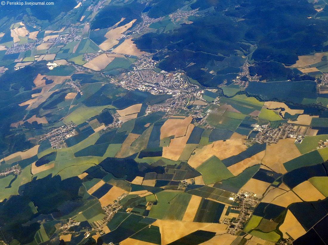 Рим - Питер с воздуха. Географические угадайки