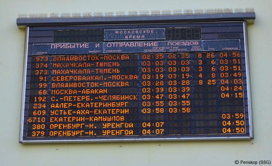 Тектонический сдвиг на железных дорогах России