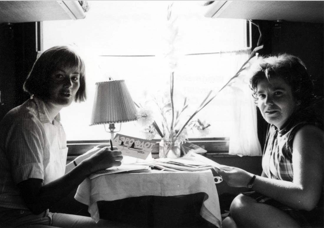 На Транссибе полвека назад (Инге Вейдман, 1965)