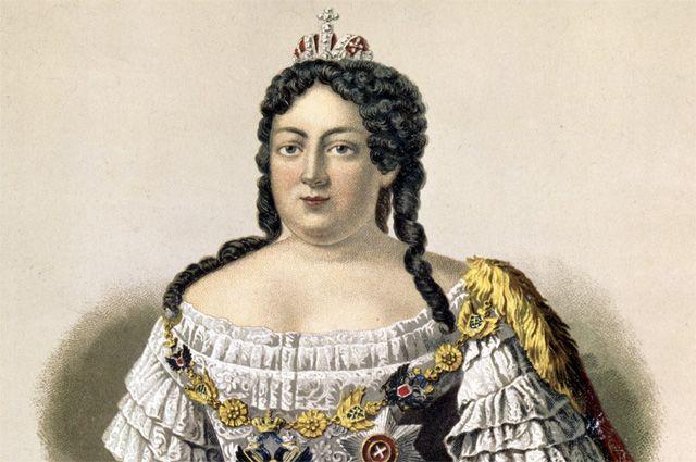 Ленивая царица Анна Иоанновна и прихле**тель ея Витус Беринг