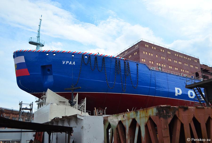 Спуск а/л Урал на воду: впечатления и наблюдения