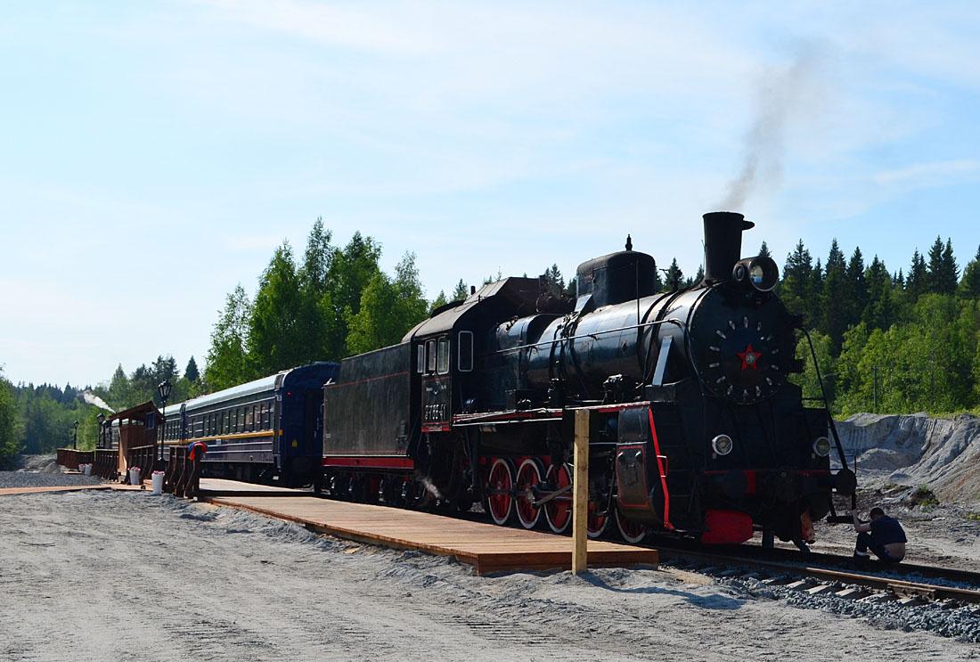 Ретро-поезд в Рускеалу и сортавальская Ласточка