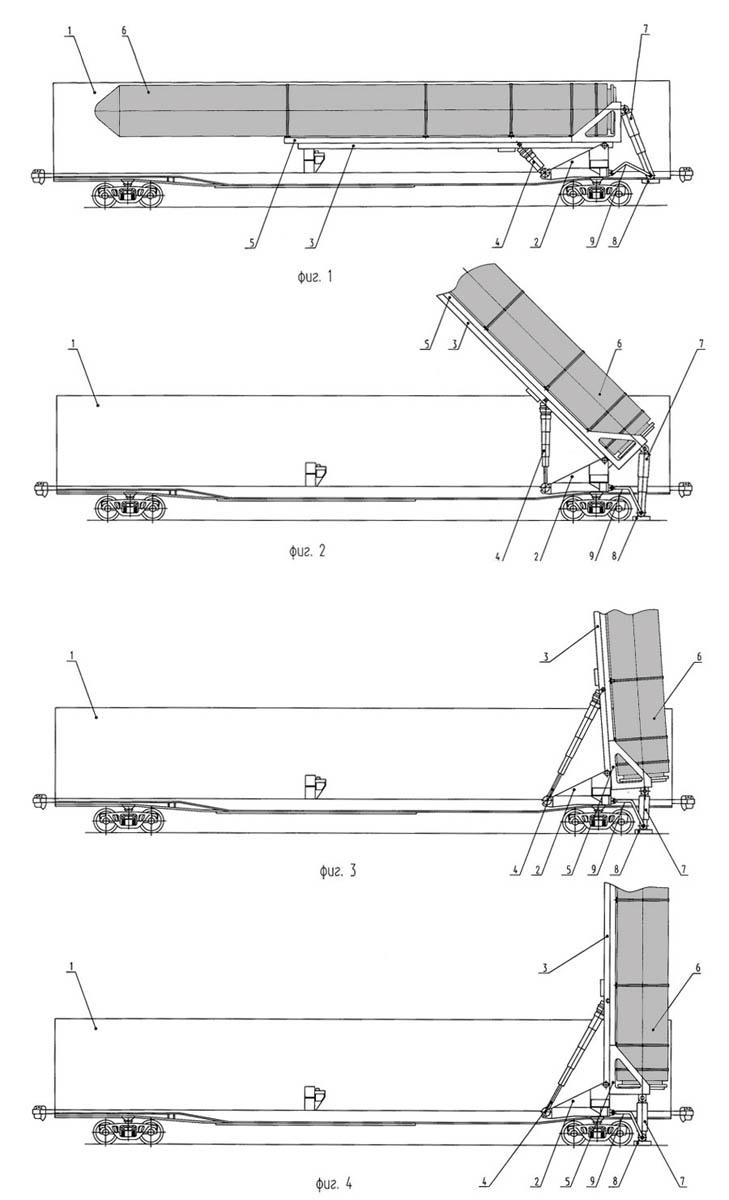 Баргузин: схема ракетного вагона