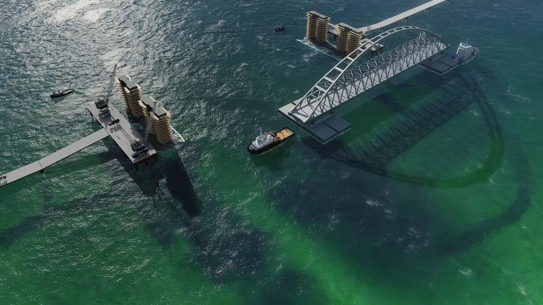 Ваш незаконный мост мешает нам развиваться...