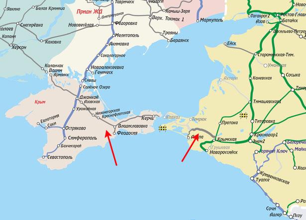 Двухэтажники пойдут в Крым?