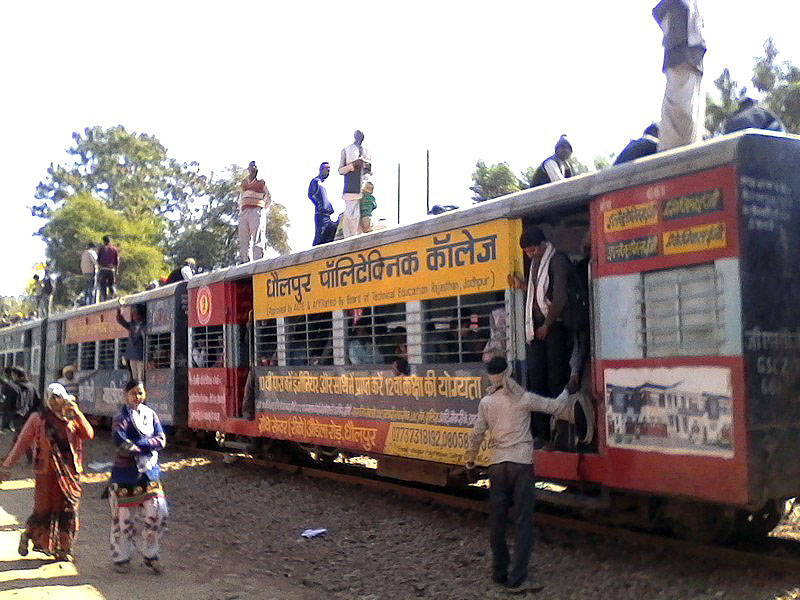 Железные дороги Индии глазами российского путешественника