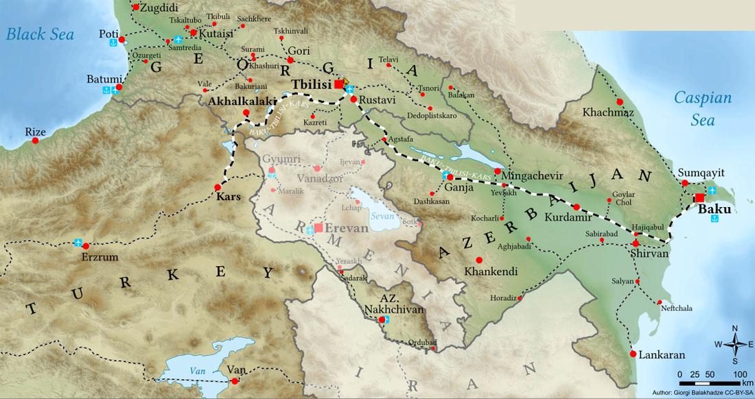 Южно-Кавказский транзитный коридор
